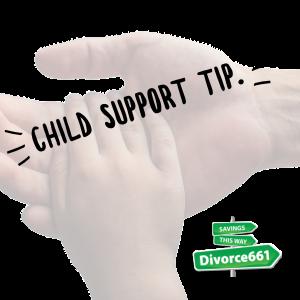 california divorce child support