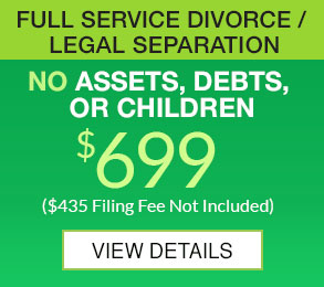 Full Service Divorce 699