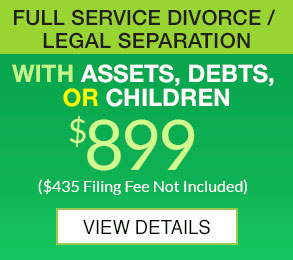 Full Service Divorce 899