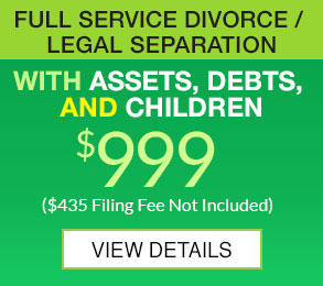Full Service Divorce 999